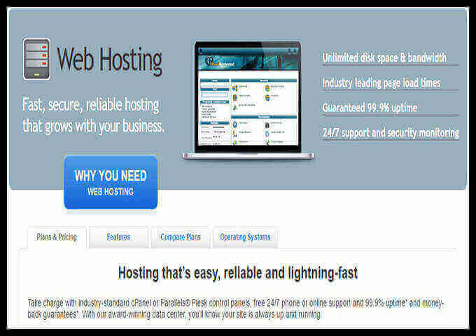 NowSoft Website Hosting